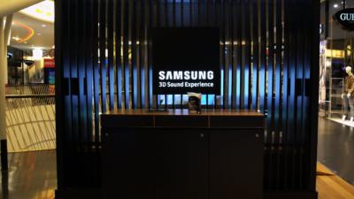 Die Samsung Soundkabine