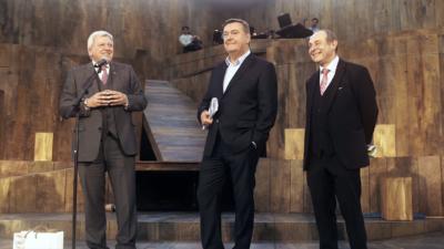 Oberbürgermeister Kaminsky, Volker Bouffier, Frank Lorenz Engel
