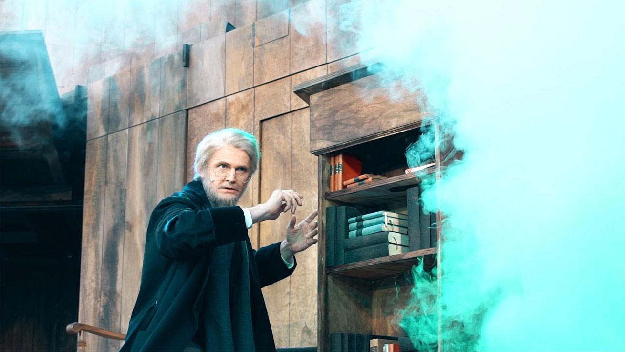 Faust beschwört Mephisto