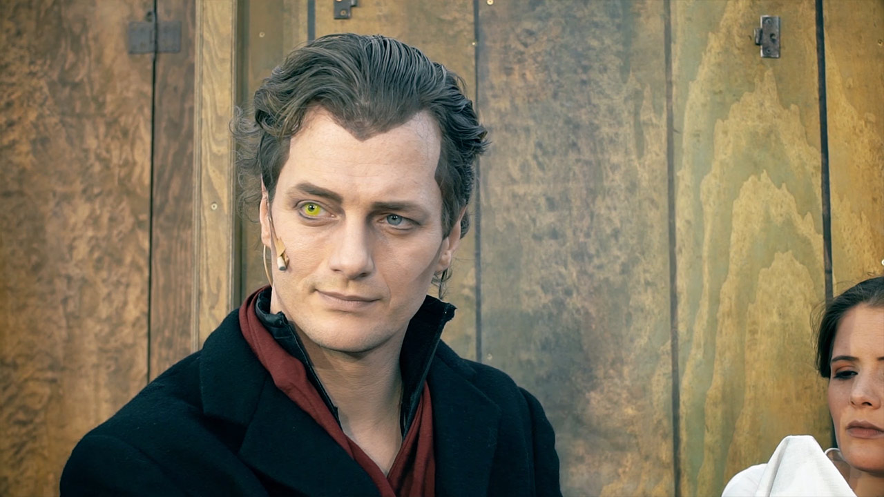 Patrick Dollmann als Mephisto