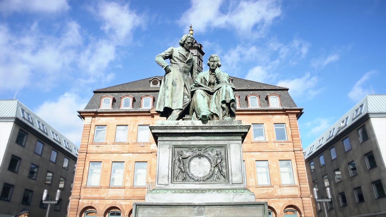 Grimm Denkmal